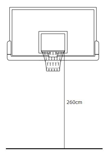 ミニバス用バスケットゴール