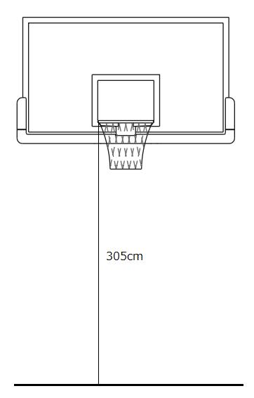 一般用バスケットゴール